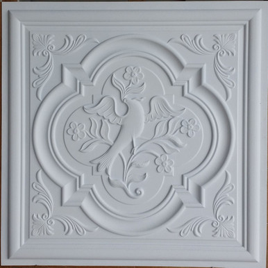 Faux Tin Ceiling Tile - 24 in x 24 in - #DCT 39