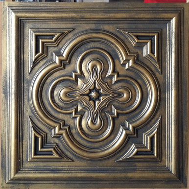 Faux Tin Ceiling Tile - 24 in x 24 in - #DCT 36