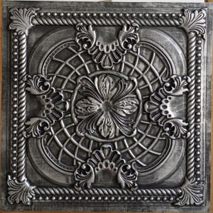 Faux Tin Ceiling Tile Faux Tin (PVC) 24x24 Ceiling Tile