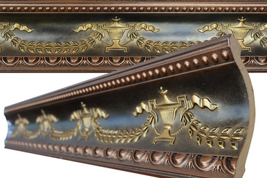 FAD Hand Painted Crown Molding - #CMF-010