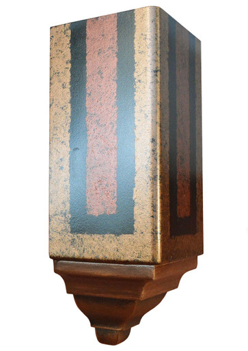 FAD Hand Painted Crown Molding - Inside Corner Block -#CMCBF-002-3A