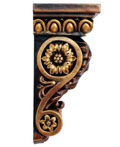 Corbel Attica - FAD Hand Painted Corbel - #CF-002