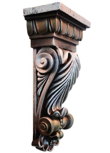 Colton Leaf - FAD Hand Painted Corbel - #CF-003-2