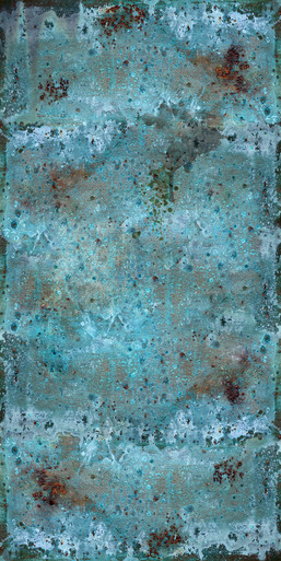 Funky Cold Patina Artwork - Aluminum Artful Metals Fusion