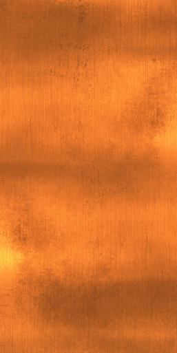 Welcome Back Copper Artwork - Aluminum Artful Metals Fusion