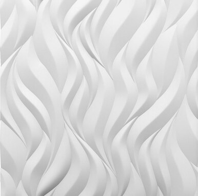 Flames 2ft. x 2ft. Seamless Glue-up Wall Panel (48 Sq. Ft. / Pack)
