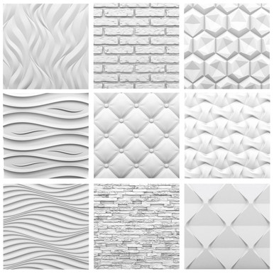2 Full Seamless Glue-up Wall Panel Sample Pack