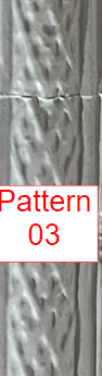 """Replicated Cornice White finish - 4""""X48"""" Cornice Pattern #3"""
