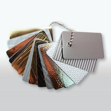 Divine NuMetal Aluminum Laminates Small Sample Chain