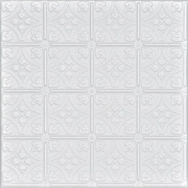 Emma's Flowers Glue-up Styrofoam Ceiling Tile 20 in x 20 in - #R125