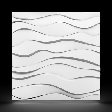 Zephyr 2ft. x 2ft. Seamless Glue-up Wall Panel (48 Sq. Ft. / Pack)