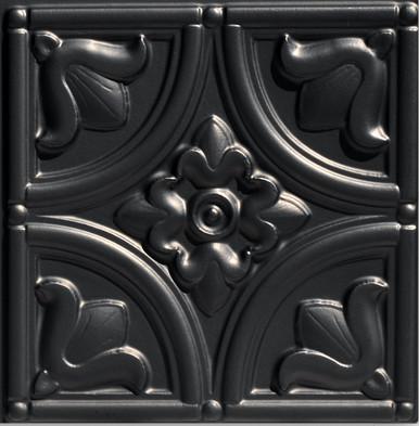 "Custom Design: 24"" Pattern - Design 148 - Satin Black"