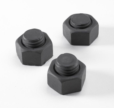 Faux Iron Nut Heads