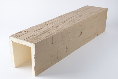 Faux Wood Monolithic Beam -  10 ft. Length