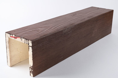 Faux Wood Monolithic Beam - 16 ft. Length