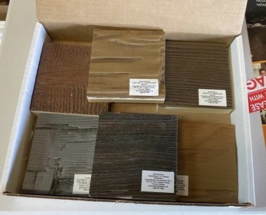 Samples of All Colors Faux Wood Beams