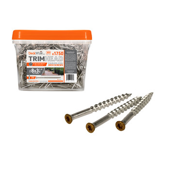 DeckWise Trim Head Screw for Faux Wood Beams