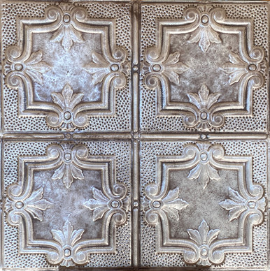 Antoinette - Shanko - Hand Painted - Tin Ceiling Tile - #321