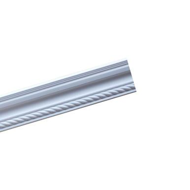 "Rope 4 3/8"" x 78"" Glue-up Styrofoam Crown Molding - #GK 85"