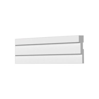 "Lines 2 1/4"" x 78"" Glue-up Styrofoam Ceiling Molding KL 02"