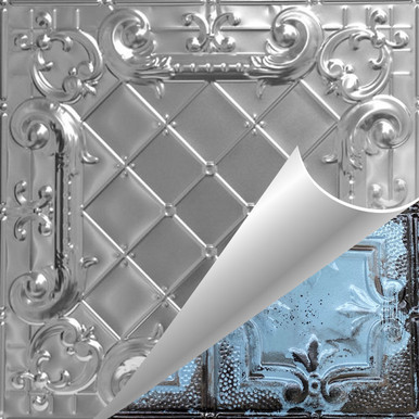 Romeo, Romeo - Shanko - Hand Painted - Tin Ceiling Tile - #502