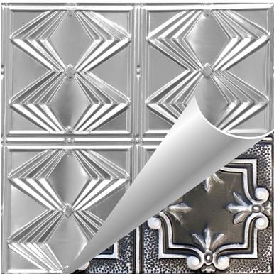 Diamond Jim - Shanko - Hand Painted - Tin Ceiling Tile - #303