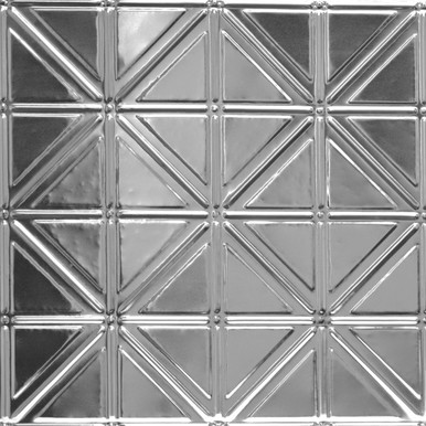 Right On - Shanko Tin Plated Steel Backsplash Tile - #215