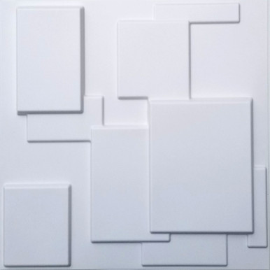 3D Wall Panels - Bamboo Pulp - (Pack of 12 - 64 sq. ft.) - #74
