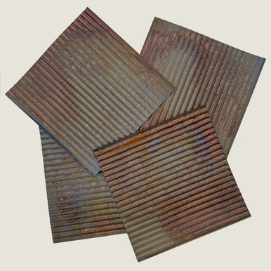 Corrugated Metal - Dakota Tin - 2x3 - Colorado Rustic Steel Wainscoting