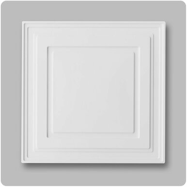 White Mission - Ceiling Connex - 24 in x 24 in - Drop in - PVC Ceiling Tile