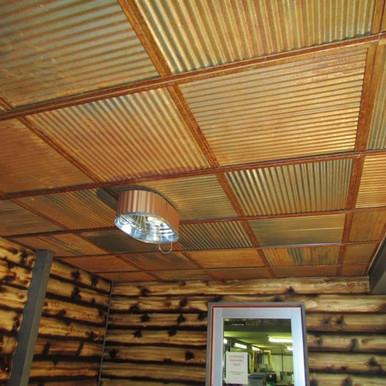 Corrugated Metal - Colorado Rustic Steel J-Track