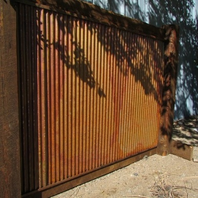 Corrugated Large Metal - Colorado - Wall Panels -  26 in x 72 in