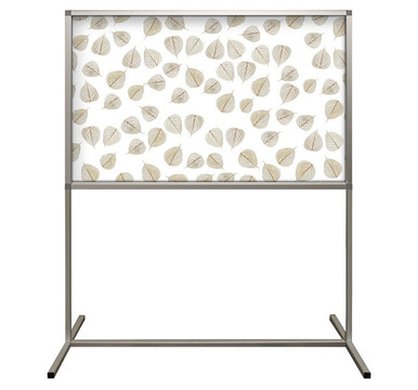 Deco Defender - Fusion - 32 in x 48 in / 48 in x 48 in - LuxCorePlus - Aspen Leaves - Protective Partitions / Barriers