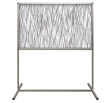 Deco Defender - Fusion - 32 in x 48 in / 48 in x 48 in - LuxCorePlus - Birch Lux - Protective Partitions / Barriers
