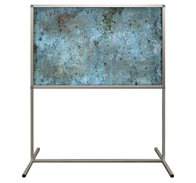 Deco Defender - Fusion - 32 in x 48 in / 48 in x 48 in - LuxCorePlus - Funky Cold Patina - Protective Partitions / Barriers