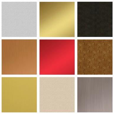 MirroFlex Color Flat Sheets Samples - 6x6