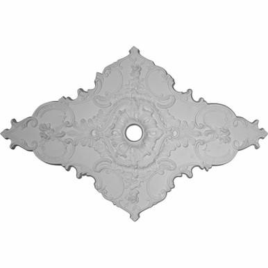 Melchor Diamond - Urethane Ceiling Medallion -  #CM70X43ML