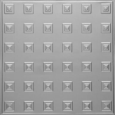 "Uptown - Aluminum Ceiling Tile - 24""x24"" - #2478"