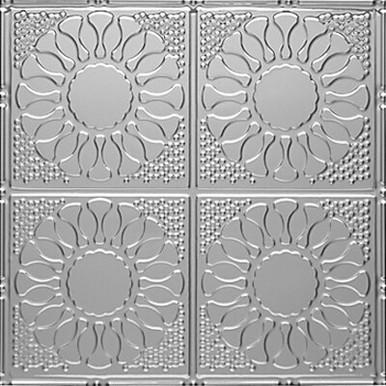 """Kaleidoscope - Tin Ceiling Tile - 24""""x24"""" - #1214"""