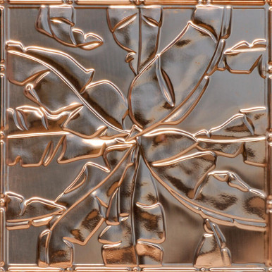 Rainforest Canopy - Copper Ceiling Tile - 24 in x 24 in - #2492