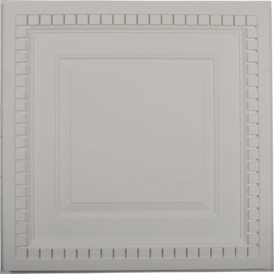 """Dentil - Urethane Ceiling Tile - 24""""x24"""" -  #CT24X24DE"""