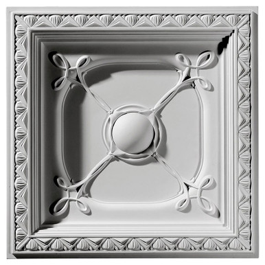 """Colonial - Urethane Ceiling Tile - 24""""x24"""" -  #CT24X24CO"""
