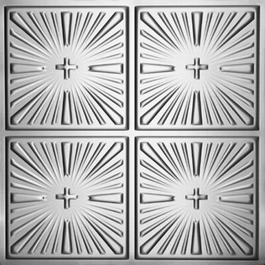 "Inspiration - Tin Ceiling Tile - 24""x24"" - #1213"