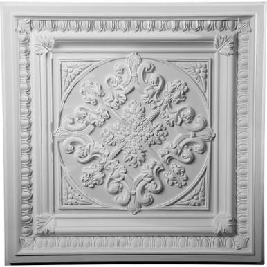 """Edwards - Urethane Ceiling Tile - 24""""x24"""" -  #CT24X24ED"""