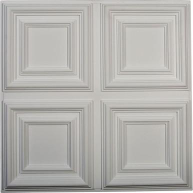 """Quatro Square - Urethane Ceiling Tile - 24""""x24"""" -  #CT24QA"""