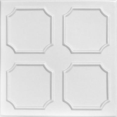 Bostonian Glue-up Styrofoam Ceiling Tile 20 in x 20 in - #R01