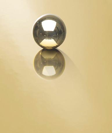 Polished Brass NuMetal Aluminum Laminate 4ft. x 8ft. 914