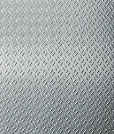 Real Stainless Steel Diamond Plate NuMetal Aluminum Laminate 4ft. x 8ft. 296 GEK