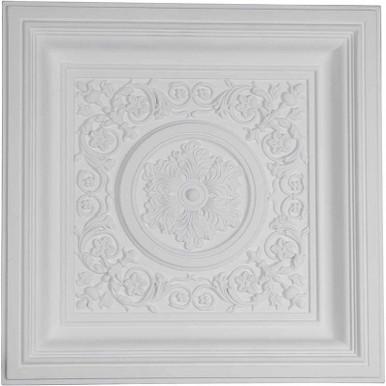 "Nicole - Urethane Ceiling Tile - 24""x24"" -  #CT24X24NI"