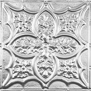 """Renaissance Faire - Tin Ceiling Tile - 24""""x24"""" - #2428"""